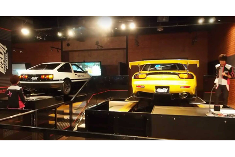 Dorifto! Initial D Arcade Game Has Real (Moving) Cars ...