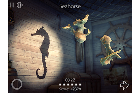 Shadowmatic - Level 4.2 walkthrough / solution (Seahorse ...