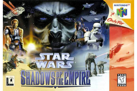 Star Wars Shadows of the Empire Nintendo 64 Game