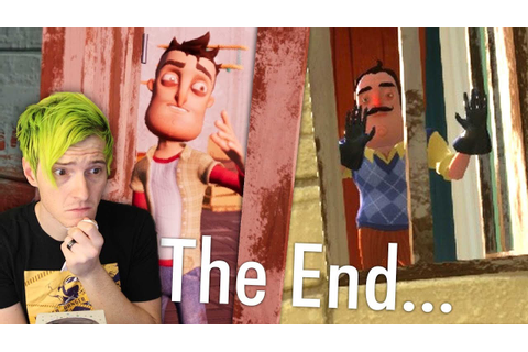 GOODBYE NEIGHBOR... | Hello Neighbor ENDING (Full Game ...