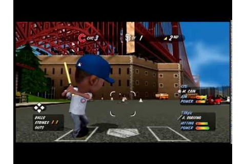 MLB Stickball - This Game Exists - YouTube