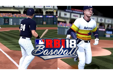 BASEBALL BACK ON XBOX ONE? RBI Baseball 18 Gameplay - YouTube