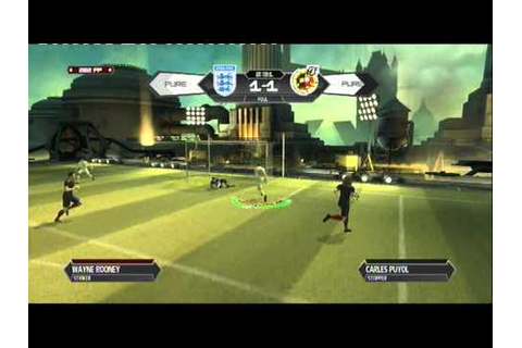 PURE FOOTBALL (PS3) GAMEPLAY ENGLAND vs SPAIN - YouTube
