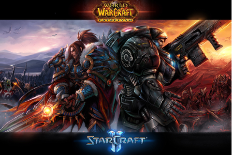 Starcraft world of warcraft video games wallpaper ...