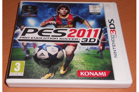 Buy PES 2011 - Pro Evolution Soccer 3D (UK 3DS Games) at ...