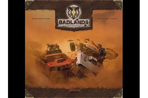 Badlands Board Game Preview - YouTube