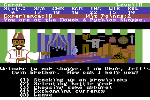 Alternate Reality: The Dungeon (1987) by Datasoft C64 game