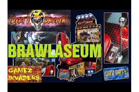 Dirty Drivin Arcade Racing Game Brawlaseum Track - YouTube