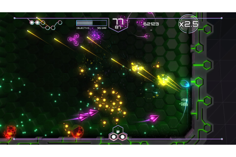 PS4 Twin Stick Shooter Battle: Tachyon Project vs AIPD ...