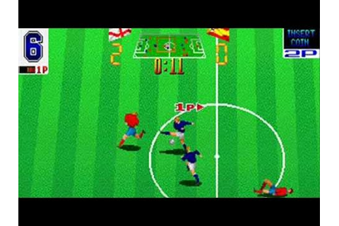 Football Champ (1990) Retro games MAME - YouTube