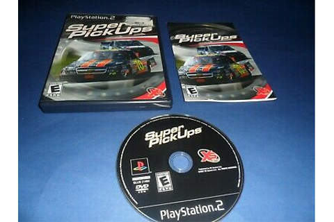Super PickUps (Sony PlayStation 2, 2007) PS2 Game ...