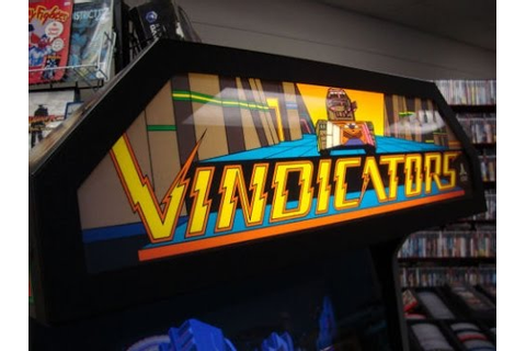 Atari's 1988 Vindicators Arcade Game - Cabinet, Artwork ...
