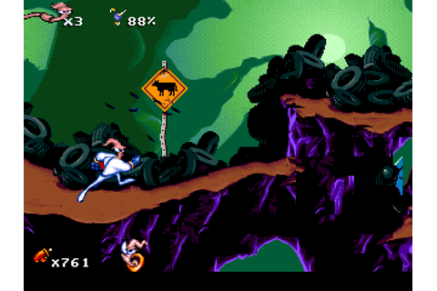 Earthworm Jim Game - Hellopcgames