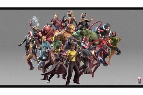 Marvel Ultimate Alliance 2 Pause Menu Theme(Game Rip ...