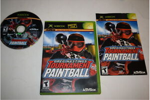 Greg Hastings Tournament Paintball Microsoft Xbox Video ...