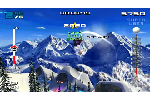 SSX 3 (GC) on Dolphin Wii/GC Emulator 720p HD | Full Speed ...