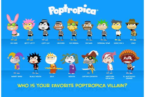 Video Games: Poptropica