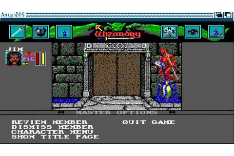 AMIGA OCS Wizardry VI Bane of the Cosmic Forge PART 1 ...