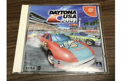 DAYTONA USA 2001 with SPINE CARD SEGA Dreamcast PS Video ...