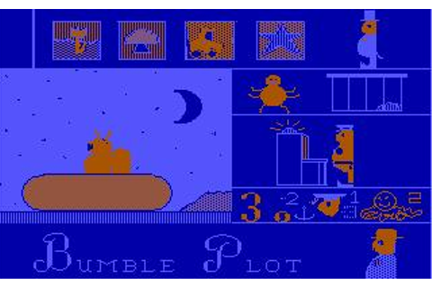 Bumble Plot Download (1982 Educational Game)