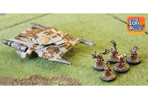 Wargame News and Terrain: The Ion Age: Upcoming Taranis ...
