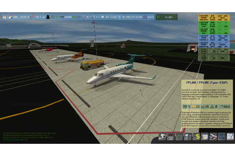 Airport Master - Game Screenshots - Version 0.1.6a