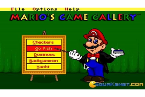 Mario's Game Gallery gameplay (PC Game, 1995) - YouTube