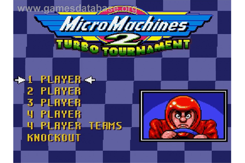 Micro Machines 2: Turbo Tournament - Nintendo SNES - Games ...