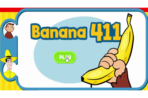 Curious George Banana 411 Phone Cartoon Animation PBS Kids ...