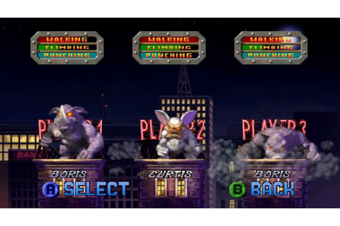 Download Game PS1 Rampage 2 Universal Tour - mainps1 ...