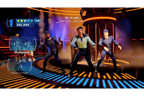"Kinect Star Wars ""I'm Han Solo"" Dancing - YouTube"