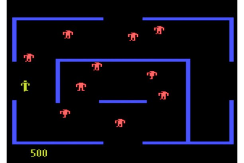 How The Mazes Were Generated For Classic Berzerk Game ...