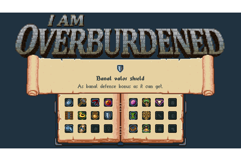 I Am Overburdened, coming soon! news - Indie DB