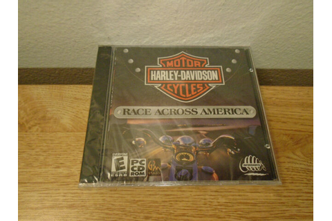 Harley Davidson Motor Cycles Race Across America PC Game ...