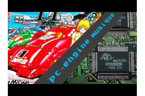 pc engine music - Moto Roader II - YouTube