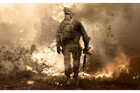 Call Of Duty Modern Warfare 2, Video Games, Soldier, War ...