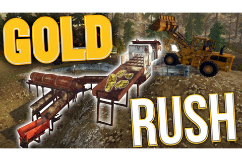 Gold Rush - Tier 3 Mega Mining! - The Ultimate Gold Output ...
