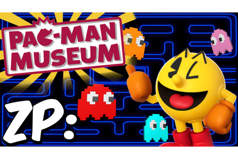 Zonic Plays: Pac-Man Museum! All 10 Games + Ms. Pac-Man ...