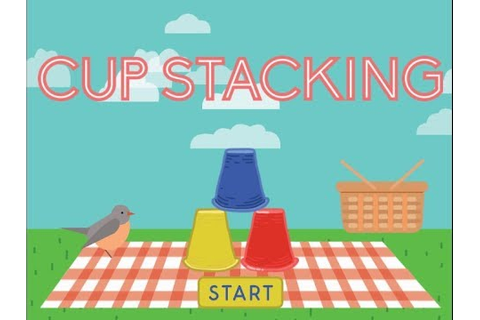 Cup Stacking - Keyboarding | Kindergarten Skill Games ...