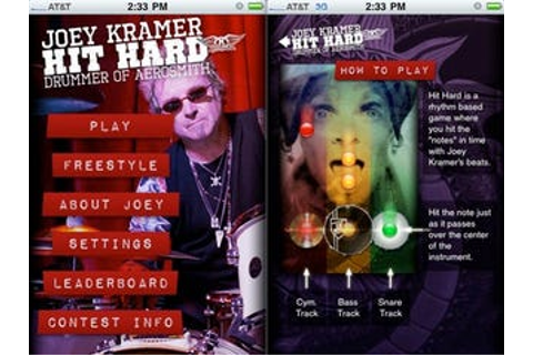 "Aerosmith iPhone App ""Hit Hard"" Trains You Up To Be A ..."