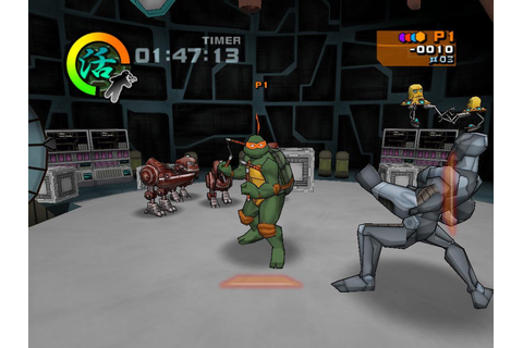Игра Teenage Mutant Ninja Turtles 2: Battle Nexus Скачать ...