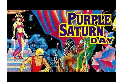 LGR - Purple Saturn Day - DOS PC Game Review - YouTube