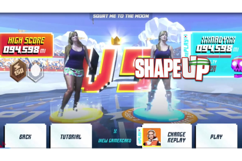 Shape Up para Xbox One - Modo para a lua! - YouTube