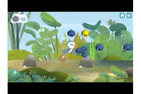 NickJr Puffin Rock Oona's Adventure Game Level 1 - YouTube
