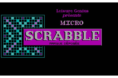 Download The computer edition of Scrabble brand crossword ...