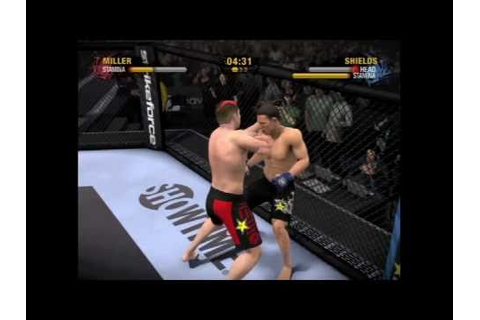 EA Sports MMA Gameplay PS3 - YouTube