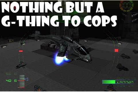 GAMES I REGRET PARTING WITH: G-Police | Grinding Down