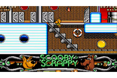 Scooby Doo and Scrappy Doo (Atari ST) Gameplay - YouTube