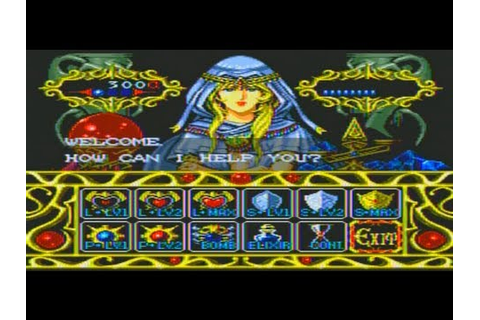 Lords of Thunder Game Sample - Sega CD - YouTube