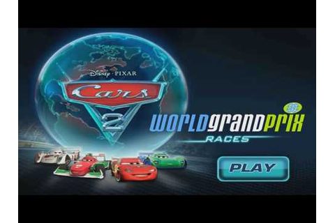 Play Cars 2 World Grand Prix Races Online Games - YouTube
